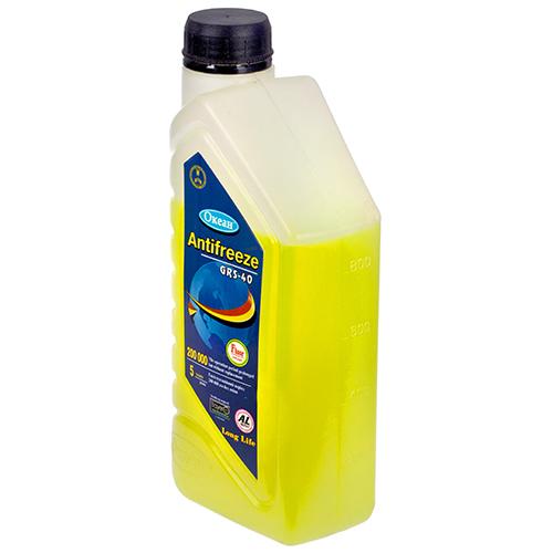 ANTI-FREEZE GRS-40 (кан. 1л) желтый (Океан)