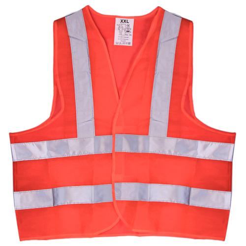 Жилет безопасности светоотражающий (orange) 116 Or XXL (ЖБ004)