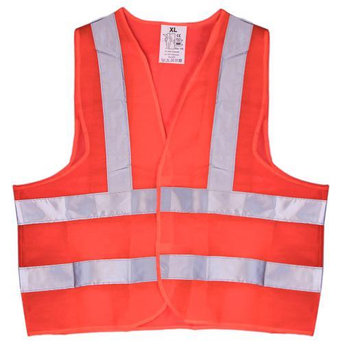 Жилет безопасности светоотражающий (orange) 116 Or XL (ЖБ001)