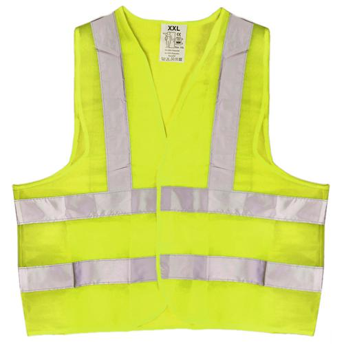 Жилет безопасности светоотражающий (yellow) 166 Y  XXL (ЖБ005)